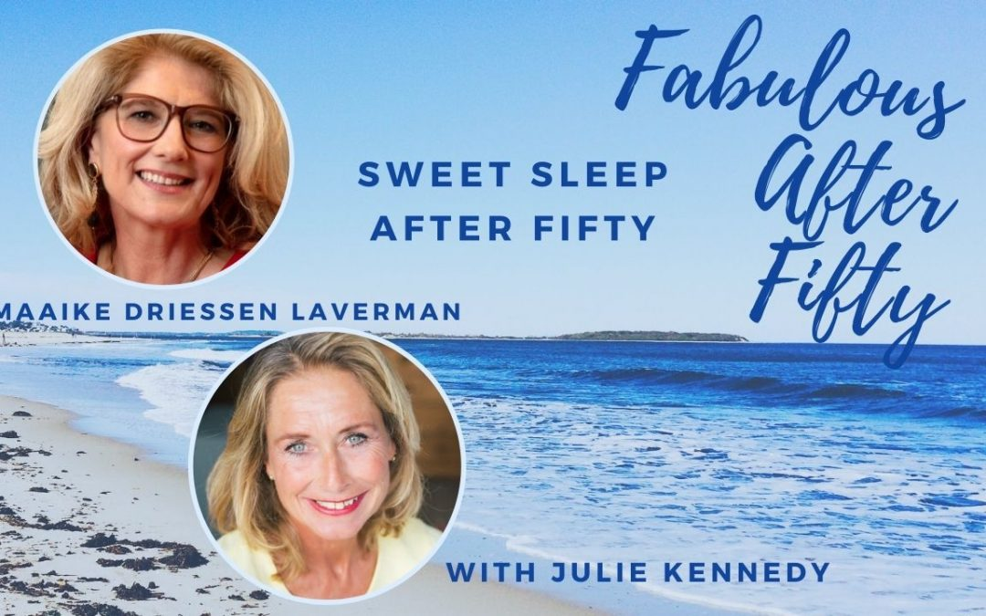 Maaike Drieesen Laverman for the Fabulous After Fifty! podcast